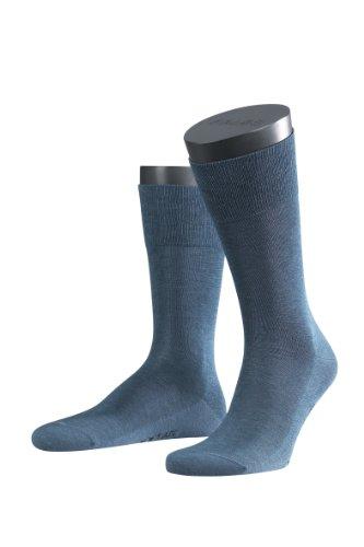 FALKE Herren Socken 14662 Tiago Business SO, Gr. 39/40, Blau (jeans 6670) Preisvergleich