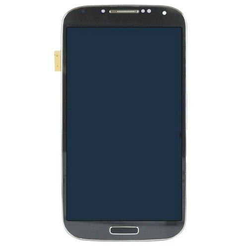 iPartsBuy LCD Display + Touchscreen Digitizer Assembly mit Rahmen Ersatz für Samsung Galaxy S4 / i337 / m919 (Schwarz) (I337 Lcd)