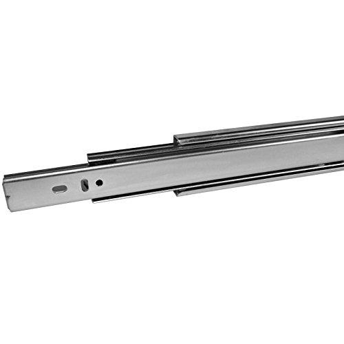 1 Paar (2 STÜCK) SO-TECH Vollauszüge Schubladenführung 450 mm (eingeschoben) kugelgelagert...