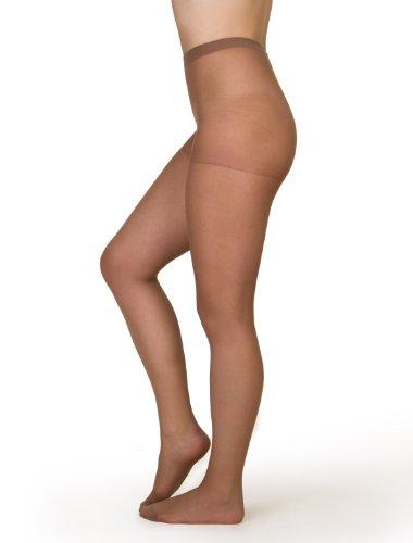 belly cloud Damen Feinstrumpfhose, Strumpfhose mit Komfortzwickel 40den, Silver Mesh, Gr. 48/50 (4XL), Hautfarben (marbella)