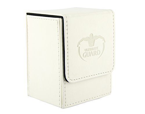 Ultimate Guard UGD010149 - Flip Deck Hülle 80+, Standardgröße, weiß (Weiß Deck Box Card)