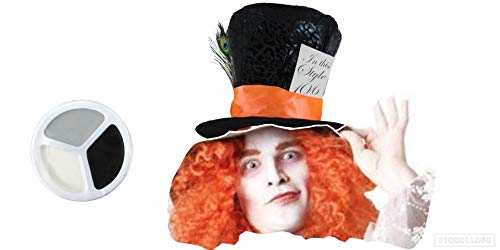 er tea party hat with hair plus makeup a must for Halloween or book week and a great item for any party. ()