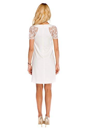 My Tummy Mutterschafts Kleid Umstands Kleid Julia mit Spitze A-Linie Elegant Hochzeit - 4