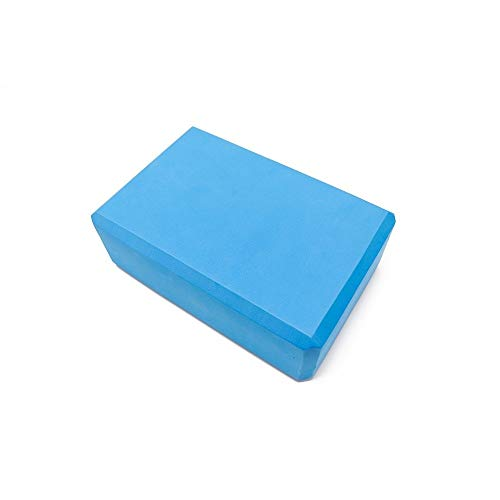 Yoga Block, Übung Fitness Gym Sport Tool Yoga Block Ziegel Schaum Heimtraining Fitness Tool (Color : Blue) - Ziegel Farbe Teppiche