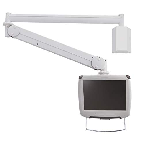 """Newstar Medical Monitor Wall Mount (Full Motion gas spring) for 10""""-24"""" Screen - Grey"""