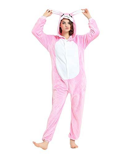 SMITHROAD Damen A-Line Kleid Bohemien Aufdruck Print Gestreift Sommerkleid Tailliert Dekolletee Armellos Loose Fit Lang Pink ()