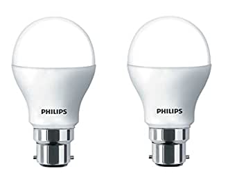 Philips Stellar Bright B22 14-Watt LED Bulb (Cool Day Light and Pack of 2)