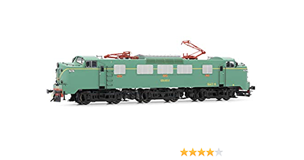 Green and Yellow Electrotren E2763 Electric Locomotive RENFE ...