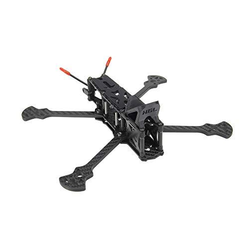 TwoCC Accesorios para Drones Kit de Marco de Fibra de Carbono 3K Freestyle Sectorv2 HD 5/6/7In Marco de Avión para FPV RC Drone