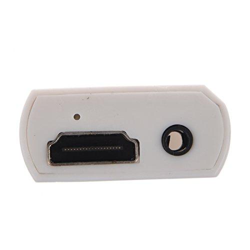 SODIAL(R) Convertidor Wii a HDMI Adaptador Convertidor de Audio 480P 3.5mm...