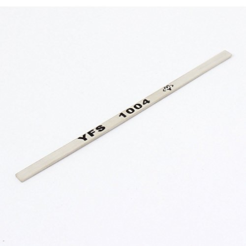 100 mm x 4 mm x 1mm 1000 # Borid Abrasives Schleiföl Stein Weiß