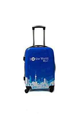 Valise trolley cabine 4 roues 55 cm Polycarbonate rigide