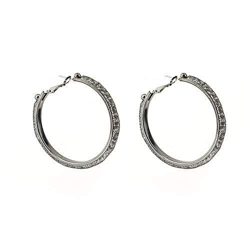 KANKOO Mädchen Ohrringe Diamanten Ohrringe Für Urlaub Klassische Party Attraktive Sichere Ohrring Süße Zum Geburtstag Nützliche Den Abschluss Ohrringe Black