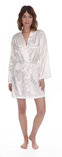 ghansham trading - Robe de chambre - Femme Noir - Crème