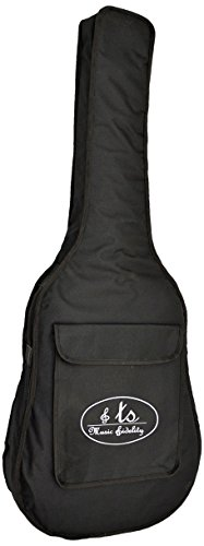 Ts-Ideen 6028 gepolsterte Gitarrentasche Gigbag 8mm für große Gitarren bis 108 cm