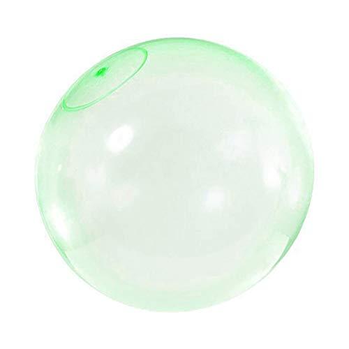 flybuild Kinder Outdoor Soft Squishy Luft Wasser gefüllt Bubble Ball Blow Up Ballon Spielzeug Green XL