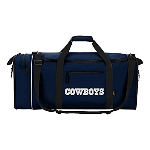 Northwest NFL stehlen Duffel, Navy, Measures 28-inches in Length, 11-inches in Width and 12-inches in Height