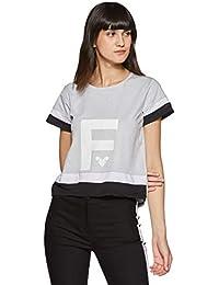 Just F by Jacqueline Fernandez Women's Plain Regular Fit Top