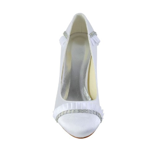 Jia Jia Wedding 1217510 Scarpe Sposa Scarpe col tacco donna Bianco