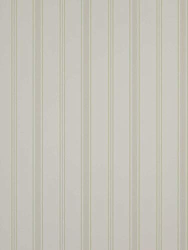 Jane Churchill Alba Collection Ellis Stripe Tapete j113 W-03 grün - Ellis Collection