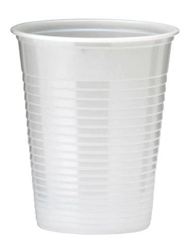100 GOBELETS PLASTIQUE 20CL - BLANC