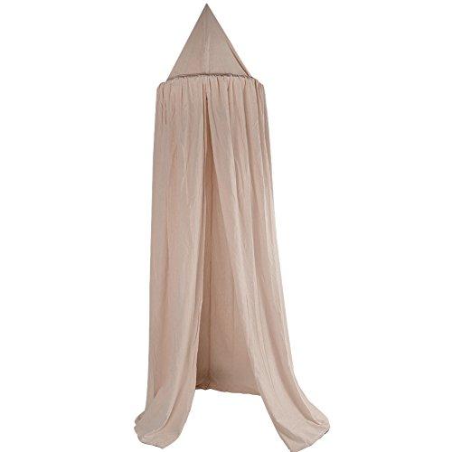 Zanzariera a baldacchino in cotone per bambini, tenda decorativa per camera