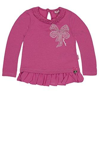 Pampolina Baby - Mädchen Langarmshirt T-Shirt 1/1 Arm, Gr. 86, Rosa (raspberry rose pink 2082) (Baby-mädchen Pampolina)