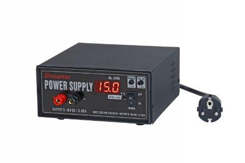 Graupner 6459 - Schaltnetzteil 12V/20A 300W -