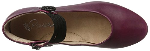 Piazza 991043, Ballerines femme Rot (Rot)