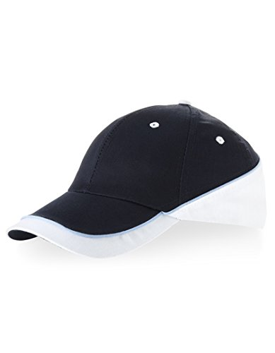 Slazenger - Basecap 'New Edge Cap' Einheitsgröße, Navy/White/Ocean Blue (Ocean Bekleidung Blue)