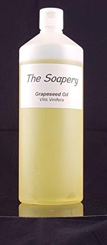 Huile de pépins de raisin 1liter - Produit cosmétique - huile de support pour...