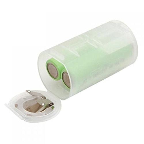 Pixnor taille AA taille D batterie adaptateurs convertisseur cas
