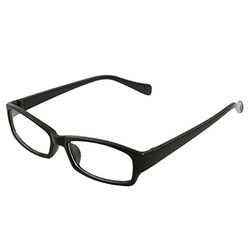 Timagebreze Unisex Schwarz Rahmen freies Objektiv Brillen plain Plano Brillen