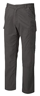 Craghoppers Men's Nosilife Cargo Short Trousers, Black Pepper, 30