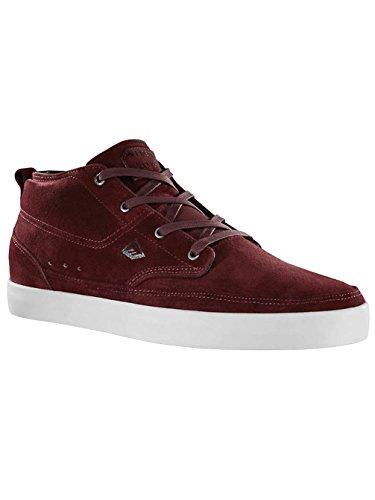 Emerica TROUBADOUR 6102000079, Sneaker Uomo maroon/black/white