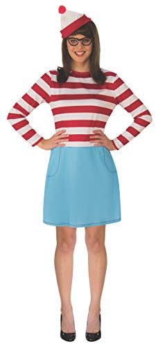 Rubie's Where's Waldo Wenda Adult Costume - Plus (Waldo Damen Kostüm)