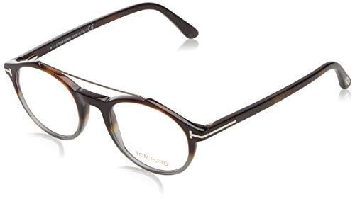 Tom Ford Unisex-Erwachsene Brille Ft5455 055 48 Brillengestelle, Braun,