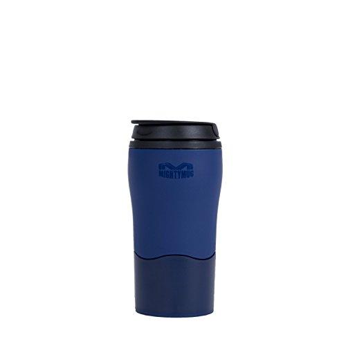 Mighty mug tazza thermos, resistente, blu marino, 8cm