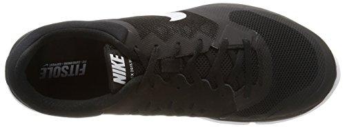 Nike  Flex 2015 Rn,  Herren Sneakers Schwarz (Schwarz/Weiß 006)