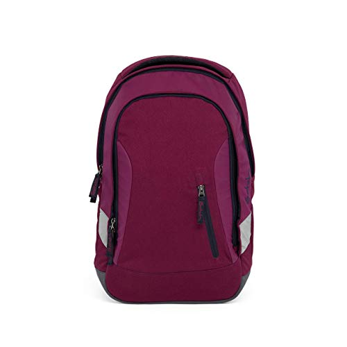 SATCH Pure Schulrucksack, 45 cm, 24 L, Purple Dark Blue