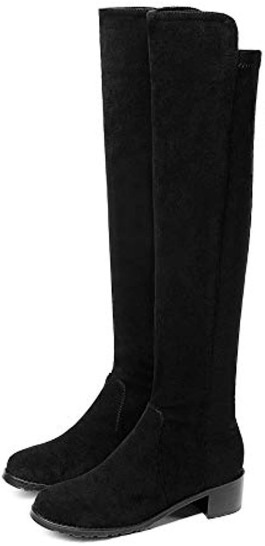Mid Heel Heel Heel High Over The Knee Long stivali da Donna | Ad un prezzo accessibile  | Uomini/Donne Scarpa  9c0882