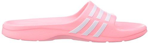 Adidas Originals Duramo Sleek, Piscine et plage Femme Rose - Pink (Light Flash Red S15/Ftwr White/Light Flash Red S15)