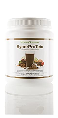 SYNERPROTEIN - Soya Protein Shake, chocolate flavour (448g)