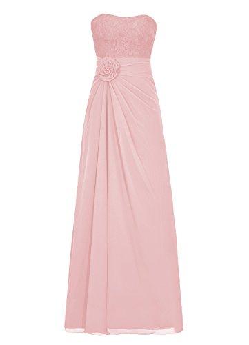Dresstells, Robe de soirée sans bretelles, robe de cérémonie, robe longue de demoiselle d'honneur Orange
