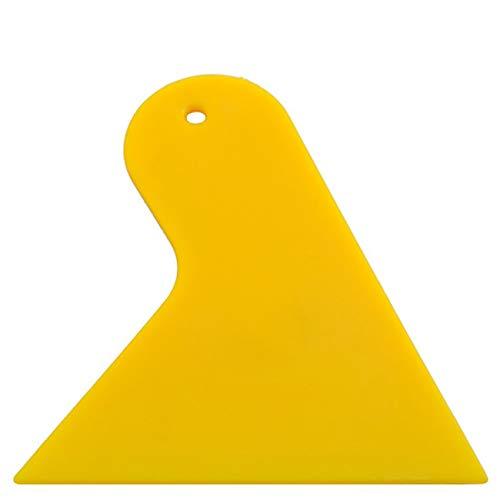 Fannty Schaberplatte Glas Gelb Film Werkzeuge Verpackungsfolie Anwendung Rakel Schaber Werkzeuge Kunststoff Blase Fenster Auto Aufkleber