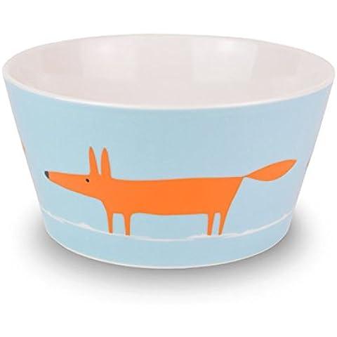 Scion - Ciotola per cereali Mr Fox, arancione /