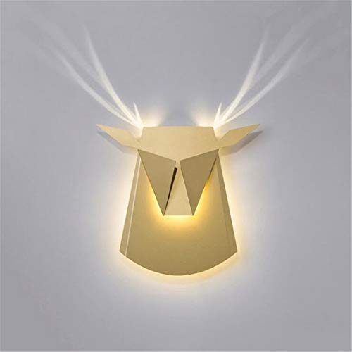Led-leuchten Edison Lights Moderne Kreative Radioaktives Licht Wandleuchte (Farbe: Gold)