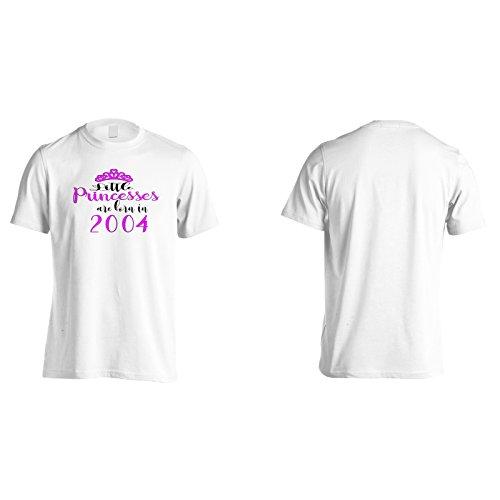 Piccole principesse sono nate nel 2004 Uomo T-shirt c200m White