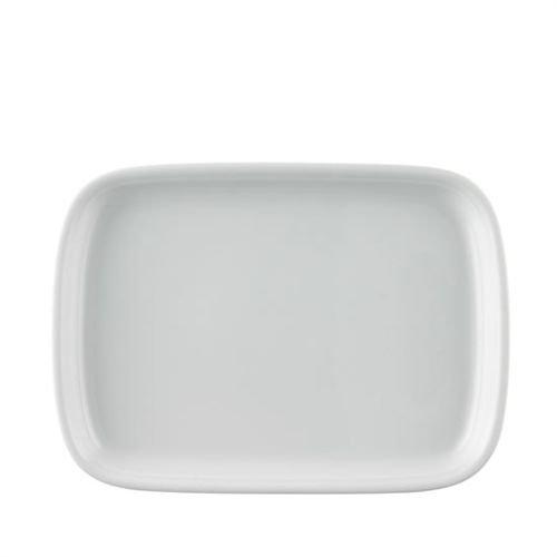 """28cm Platte oval \""""Trend\"""" in Weiß"""