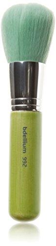 Ecologico Strumenti bdellium Pennello professionale con trucco verde Serie Bambu vegan setole sintetiche - protezione solare 992